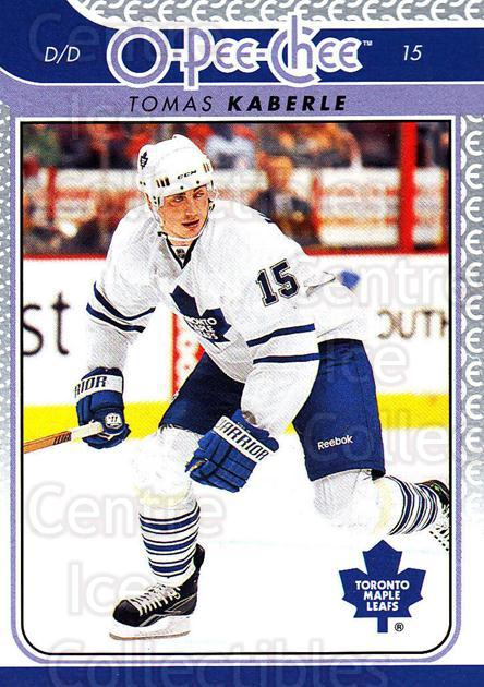 2009-10 O-pee-chee #36 Tomas Kaberle<br/>3 In Stock - $1.00 each - <a href=https://centericecollectibles.foxycart.com/cart?name=2009-10%20O-pee-chee%20%2336%20Tomas%20Kaberle...&quantity_max=3&price=$1.00&code=278378 class=foxycart> Buy it now! </a>