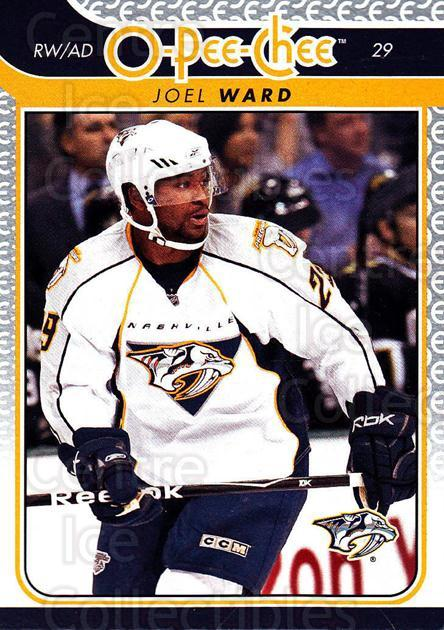 2009-10 O-pee-chee #38 Joel Ward<br/>4 In Stock - $1.00 each - <a href=https://centericecollectibles.foxycart.com/cart?name=2009-10%20O-pee-chee%20%2338%20Joel%20Ward...&quantity_max=4&price=$1.00&code=278380 class=foxycart> Buy it now! </a>