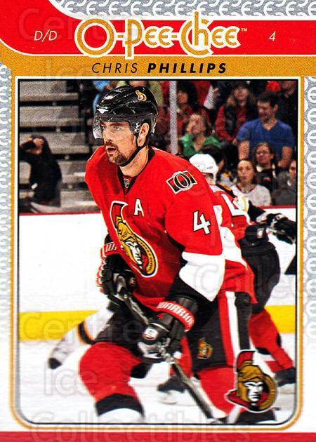 2009-10 O-pee-chee #51 Chris Phillips<br/>5 In Stock - $1.00 each - <a href=https://centericecollectibles.foxycart.com/cart?name=2009-10%20O-pee-chee%20%2351%20Chris%20Phillips...&quantity_max=5&price=$1.00&code=278393 class=foxycart> Buy it now! </a>