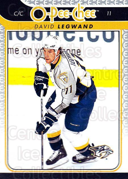 2009-10 O-pee-chee #57 David Legwand<br/>5 In Stock - $1.00 each - <a href=https://centericecollectibles.foxycart.com/cart?name=2009-10%20O-pee-chee%20%2357%20David%20Legwand...&quantity_max=5&price=$1.00&code=278399 class=foxycart> Buy it now! </a>