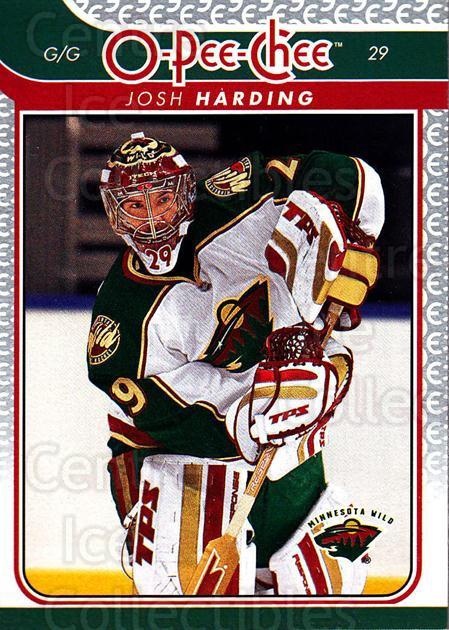 2009-10 O-pee-chee #67 Josh Harding<br/>4 In Stock - $1.00 each - <a href=https://centericecollectibles.foxycart.com/cart?name=2009-10%20O-pee-chee%20%2367%20Josh%20Harding...&quantity_max=4&price=$1.00&code=278409 class=foxycart> Buy it now! </a>