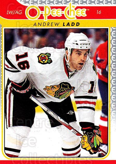 2009-10 O-pee-chee #81 Andrew Ladd<br/>3 In Stock - $1.00 each - <a href=https://centericecollectibles.foxycart.com/cart?name=2009-10%20O-pee-chee%20%2381%20Andrew%20Ladd...&quantity_max=3&price=$1.00&code=278423 class=foxycart> Buy it now! </a>