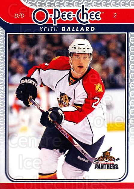 2009-10 O-pee-chee #85 Keith Ballard<br/>3 In Stock - $1.00 each - <a href=https://centericecollectibles.foxycart.com/cart?name=2009-10%20O-pee-chee%20%2385%20Keith%20Ballard...&quantity_max=3&price=$1.00&code=278427 class=foxycart> Buy it now! </a>