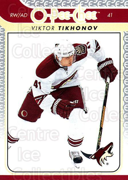 2009-10 O-pee-chee #91 Viktor Tikhonov<br/>4 In Stock - $1.00 each - <a href=https://centericecollectibles.foxycart.com/cart?name=2009-10%20O-pee-chee%20%2391%20Viktor%20Tikhonov...&quantity_max=4&price=$1.00&code=278433 class=foxycart> Buy it now! </a>