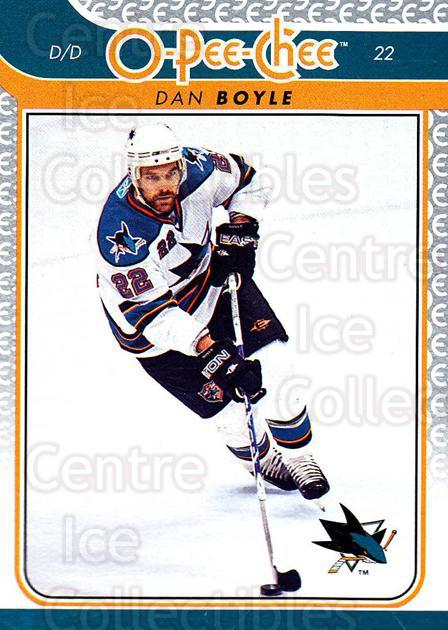 2009-10 O-pee-chee #92 Dan Boyle<br/>5 In Stock - $1.00 each - <a href=https://centericecollectibles.foxycart.com/cart?name=2009-10%20O-pee-chee%20%2392%20Dan%20Boyle...&quantity_max=5&price=$1.00&code=278434 class=foxycart> Buy it now! </a>