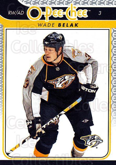 2009-10 O-pee-chee #96 Wade Belak<br/>4 In Stock - $1.00 each - <a href=https://centericecollectibles.foxycart.com/cart?name=2009-10%20O-pee-chee%20%2396%20Wade%20Belak...&quantity_max=4&price=$1.00&code=278438 class=foxycart> Buy it now! </a>