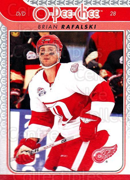 2009-10 O-pee-chee #103 Brian Rafalski<br/>4 In Stock - $1.00 each - <a href=https://centericecollectibles.foxycart.com/cart?name=2009-10%20O-pee-chee%20%23103%20Brian%20Rafalski...&quantity_max=4&price=$1.00&code=278445 class=foxycart> Buy it now! </a>