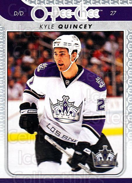 2009-10 O-pee-chee #105 Kyle Quincey<br/>4 In Stock - $1.00 each - <a href=https://centericecollectibles.foxycart.com/cart?name=2009-10%20O-pee-chee%20%23105%20Kyle%20Quincey...&quantity_max=4&price=$1.00&code=278447 class=foxycart> Buy it now! </a>