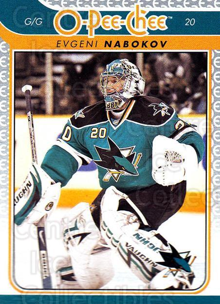2009-10 O-pee-chee #111 Evgeni Nabokov<br/>5 In Stock - $1.00 each - <a href=https://centericecollectibles.foxycart.com/cart?name=2009-10%20O-pee-chee%20%23111%20Evgeni%20Nabokov...&quantity_max=5&price=$1.00&code=278453 class=foxycart> Buy it now! </a>