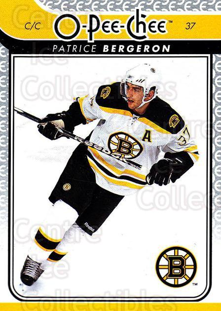 2009-10 O-pee-chee #117 Patrice Bergeron<br/>3 In Stock - $2.00 each - <a href=https://centericecollectibles.foxycart.com/cart?name=2009-10%20O-pee-chee%20%23117%20Patrice%20Bergero...&quantity_max=3&price=$2.00&code=278459 class=foxycart> Buy it now! </a>
