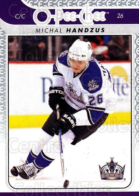 2009-10 O-pee-chee #124 Michal Handzus<br/>4 In Stock - $1.00 each - <a href=https://centericecollectibles.foxycart.com/cart?name=2009-10%20O-pee-chee%20%23124%20Michal%20Handzus...&quantity_max=4&price=$1.00&code=278466 class=foxycart> Buy it now! </a>