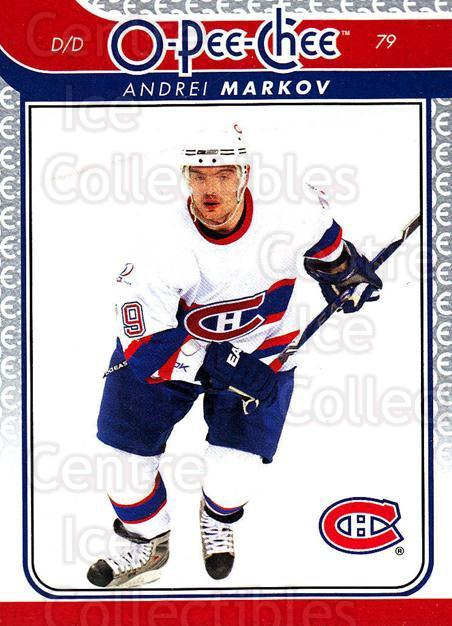 2009-10 O-pee-chee #125 Andrei Markov<br/>5 In Stock - $1.00 each - <a href=https://centericecollectibles.foxycart.com/cart?name=2009-10%20O-pee-chee%20%23125%20Andrei%20Markov...&quantity_max=5&price=$1.00&code=278467 class=foxycart> Buy it now! </a>
