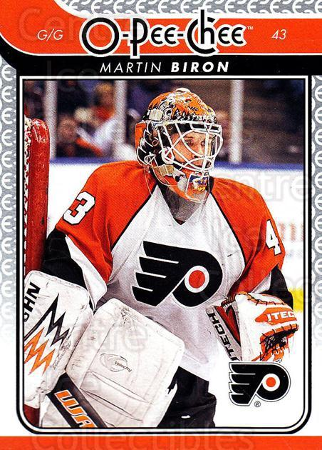 2009-10 O-pee-chee #128 Martin Biron<br/>4 In Stock - $1.00 each - <a href=https://centericecollectibles.foxycart.com/cart?name=2009-10%20O-pee-chee%20%23128%20Martin%20Biron...&quantity_max=4&price=$1.00&code=278470 class=foxycart> Buy it now! </a>