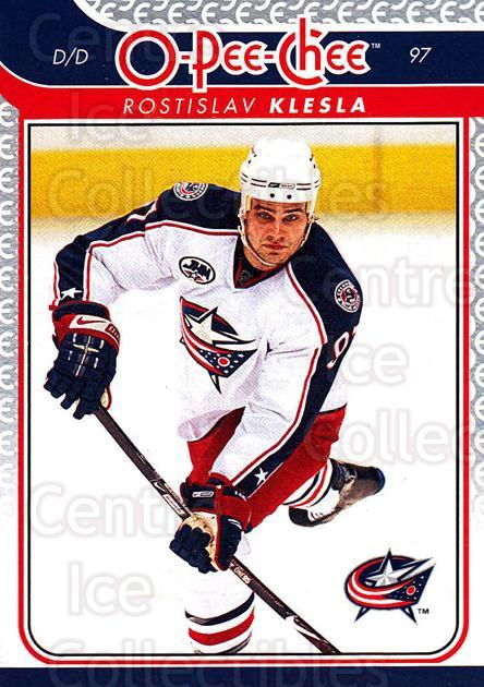 2009-10 O-pee-chee #139 Rostislav Klesla<br/>4 In Stock - $1.00 each - <a href=https://centericecollectibles.foxycart.com/cart?name=2009-10%20O-pee-chee%20%23139%20Rostislav%20Klesl...&quantity_max=4&price=$1.00&code=278481 class=foxycart> Buy it now! </a>