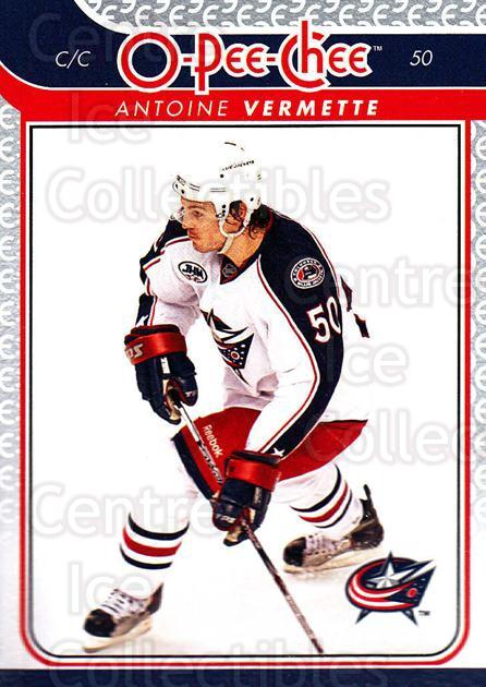 2009-10 O-pee-chee #145 Antoine Vermette<br/>4 In Stock - $1.00 each - <a href=https://centericecollectibles.foxycart.com/cart?name=2009-10%20O-pee-chee%20%23145%20Antoine%20Vermett...&quantity_max=4&price=$1.00&code=278487 class=foxycart> Buy it now! </a>