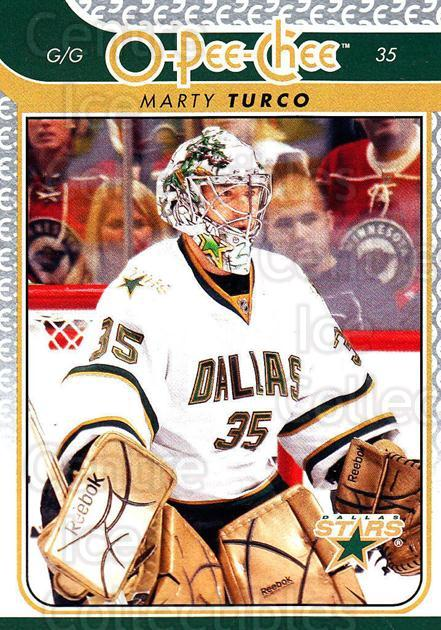 2009-10 O-pee-chee #158 Marty Turco<br/>4 In Stock - $1.00 each - <a href=https://centericecollectibles.foxycart.com/cart?name=2009-10%20O-pee-chee%20%23158%20Marty%20Turco...&quantity_max=4&price=$1.00&code=278500 class=foxycart> Buy it now! </a>
