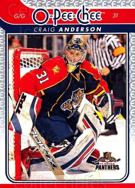 2009-10 O-pee-chee #160 Craig Anderson<br/>4 In Stock - $1.00 each - <a href=https://centericecollectibles.foxycart.com/cart?name=2009-10%20O-pee-chee%20%23160%20Craig%20Anderson...&quantity_max=4&price=$1.00&code=278502 class=foxycart> Buy it now! </a>