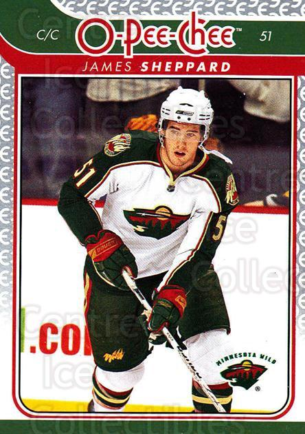 2009-10 O-pee-chee #161 James Sheppard<br/>2 In Stock - $1.00 each - <a href=https://centericecollectibles.foxycart.com/cart?name=2009-10%20O-pee-chee%20%23161%20James%20Sheppard...&quantity_max=2&price=$1.00&code=278503 class=foxycart> Buy it now! </a>