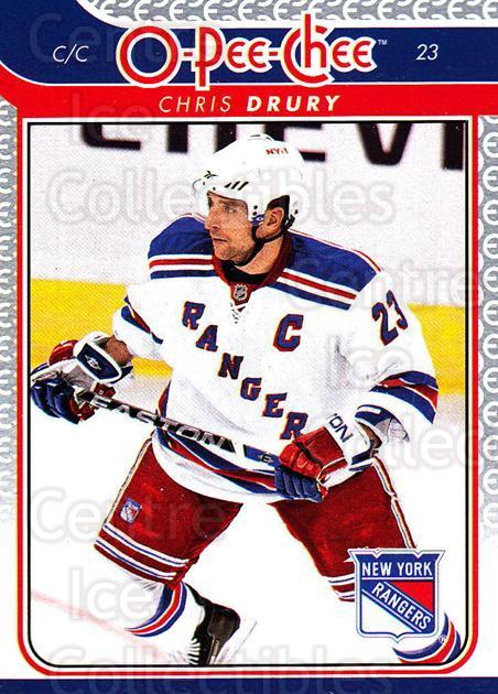 2009-10 O-pee-chee #166 Chris Drury<br/>5 In Stock - $1.00 each - <a href=https://centericecollectibles.foxycart.com/cart?name=2009-10%20O-pee-chee%20%23166%20Chris%20Drury...&quantity_max=5&price=$1.00&code=278508 class=foxycart> Buy it now! </a>