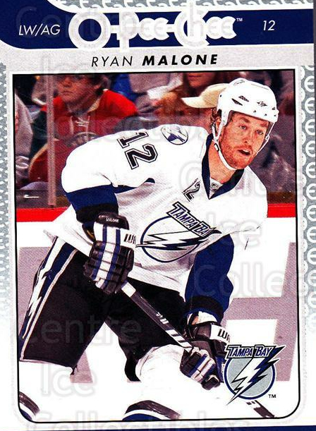 2009-10 O-pee-chee #168 Ryan Malone<br/>5 In Stock - $1.00 each - <a href=https://centericecollectibles.foxycart.com/cart?name=2009-10%20O-pee-chee%20%23168%20Ryan%20Malone...&quantity_max=5&price=$1.00&code=278510 class=foxycart> Buy it now! </a>