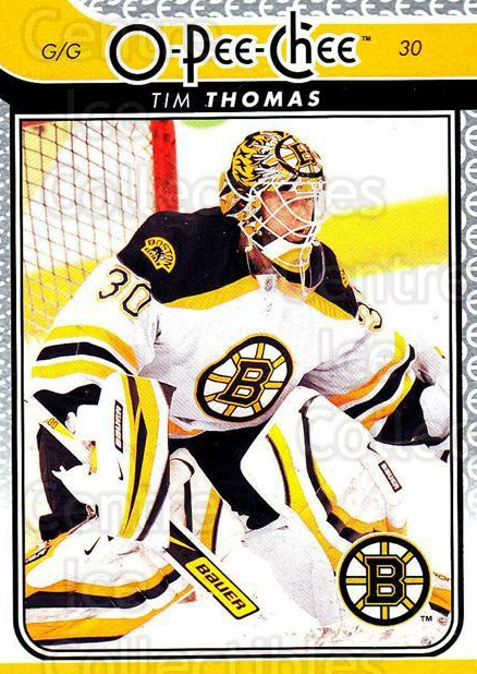 2009-10 O-pee-chee #173 Tim Thomas<br/>3 In Stock - $1.00 each - <a href=https://centericecollectibles.foxycart.com/cart?name=2009-10%20O-pee-chee%20%23173%20Tim%20Thomas...&quantity_max=3&price=$1.00&code=278515 class=foxycart> Buy it now! </a>