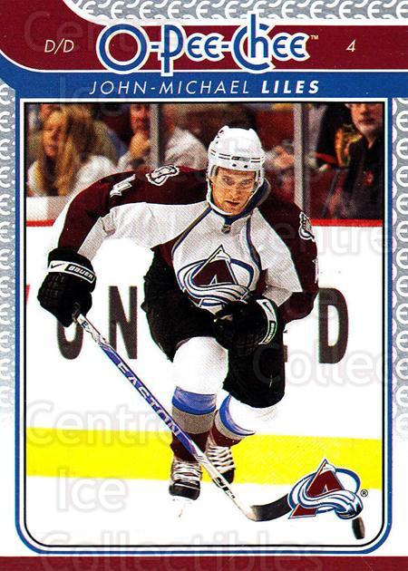 2009-10 O-pee-chee #176 John-Michael Liles<br/>5 In Stock - $1.00 each - <a href=https://centericecollectibles.foxycart.com/cart?name=2009-10%20O-pee-chee%20%23176%20John-Michael%20Li...&quantity_max=5&price=$1.00&code=278518 class=foxycart> Buy it now! </a>