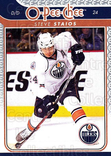 2009-10 O-pee-chee #179 Steve Staios<br/>5 In Stock - $1.00 each - <a href=https://centericecollectibles.foxycart.com/cart?name=2009-10%20O-pee-chee%20%23179%20Steve%20Staios...&quantity_max=5&price=$1.00&code=278521 class=foxycart> Buy it now! </a>