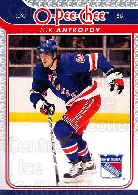 2009-10 O-pee-chee #223 Nik Antropov<br/>5 In Stock - $1.00 each - <a href=https://centericecollectibles.foxycart.com/cart?name=2009-10%20O-pee-chee%20%23223%20Nik%20Antropov...&quantity_max=5&price=$1.00&code=278565 class=foxycart> Buy it now! </a>