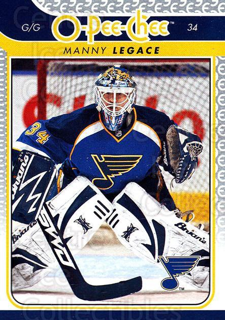 2009-10 O-pee-chee #261 Manny Legace<br/>3 In Stock - $1.00 each - <a href=https://centericecollectibles.foxycart.com/cart?name=2009-10%20O-pee-chee%20%23261%20Manny%20Legace...&quantity_max=3&price=$1.00&code=278603 class=foxycart> Buy it now! </a>