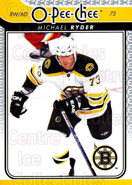 2009-10 O-pee-chee #286 Michael Ryder<br/>5 In Stock - $1.00 each - <a href=https://centericecollectibles.foxycart.com/cart?name=2009-10%20O-pee-chee%20%23286%20Michael%20Ryder...&quantity_max=5&price=$1.00&code=278628 class=foxycart> Buy it now! </a>