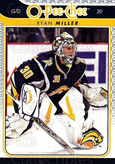 2009-10 O-pee-chee #287 Ryan Miller<br/>4 In Stock - $1.00 each - <a href=https://centericecollectibles.foxycart.com/cart?name=2009-10%20O-pee-chee%20%23287%20Ryan%20Miller...&quantity_max=4&price=$1.00&code=278629 class=foxycart> Buy it now! </a>
