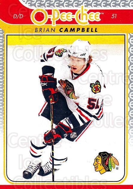 2009-10 O-pee-chee #309 Brian Campbell<br/>5 In Stock - $1.00 each - <a href=https://centericecollectibles.foxycart.com/cart?name=2009-10%20O-pee-chee%20%23309%20Brian%20Campbell...&quantity_max=5&price=$1.00&code=278651 class=foxycart> Buy it now! </a>