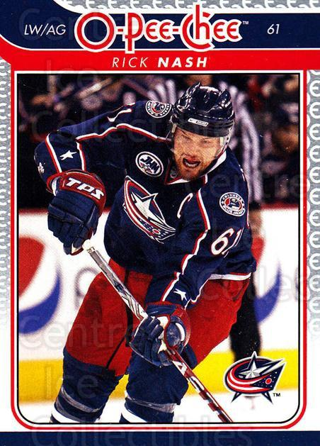 2009-10 O-pee-chee #330 Rick Nash<br/>4 In Stock - $1.00 each - <a href=https://centericecollectibles.foxycart.com/cart?name=2009-10%20O-pee-chee%20%23330%20Rick%20Nash...&quantity_max=4&price=$1.00&code=278672 class=foxycart> Buy it now! </a>