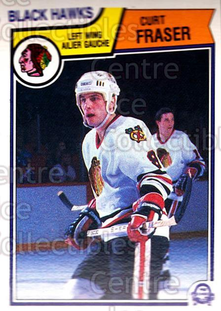 1983-84 O-Pee-Chee #102 Curt Fraser<br/>8 In Stock - $1.00 each - <a href=https://centericecollectibles.foxycart.com/cart?name=1983-84%20O-Pee-Chee%20%23102%20Curt%20Fraser...&quantity_max=8&price=$1.00&code=27870 class=foxycart> Buy it now! </a>