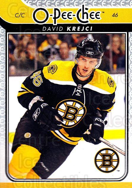 2009-10 O-pee-chee #385 David Krejci<br/>5 In Stock - $1.00 each - <a href=https://centericecollectibles.foxycart.com/cart?name=2009-10%20O-pee-chee%20%23385%20David%20Krejci...&quantity_max=5&price=$1.00&code=278727 class=foxycart> Buy it now! </a>