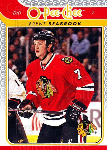 2009-10 O-pee-chee #388 Brent Seabrook<br/>4 In Stock - $1.00 each - <a href=https://centericecollectibles.foxycart.com/cart?name=2009-10%20O-pee-chee%20%23388%20Brent%20Seabrook...&quantity_max=4&price=$1.00&code=278730 class=foxycart> Buy it now! </a>