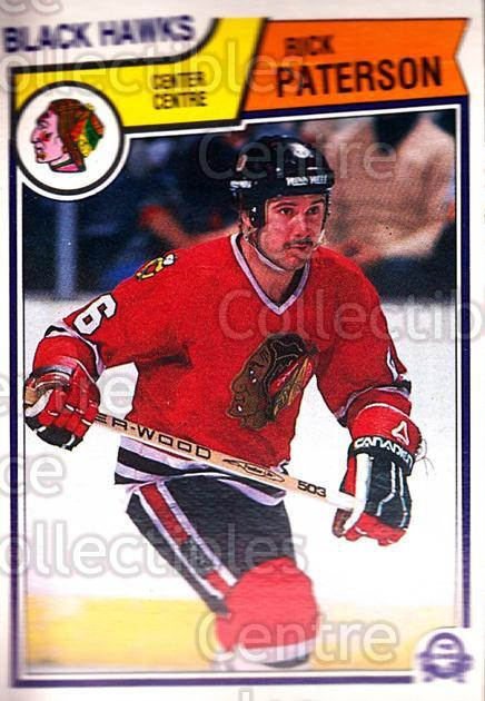 1983-84 O-Pee-Chee #109 Rick Paterson<br/>7 In Stock - $1.00 each - <a href=https://centericecollectibles.foxycart.com/cart?name=1983-84%20O-Pee-Chee%20%23109%20Rick%20Paterson...&quantity_max=7&price=$1.00&code=27875 class=foxycart> Buy it now! </a>