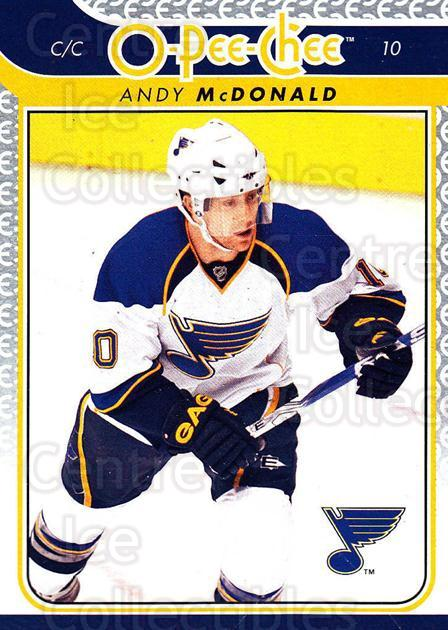 2009-10 O-pee-chee #458 Andy McDonald<br/>5 In Stock - $1.00 each - <a href=https://centericecollectibles.foxycart.com/cart?name=2009-10%20O-pee-chee%20%23458%20Andy%20McDonald...&quantity_max=5&price=$1.00&code=278800 class=foxycart> Buy it now! </a>