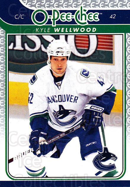 2009-10 O-pee-chee #460 Kyle Wellwood<br/>4 In Stock - $1.00 each - <a href=https://centericecollectibles.foxycart.com/cart?name=2009-10%20O-pee-chee%20%23460%20Kyle%20Wellwood...&quantity_max=4&price=$1.00&code=278802 class=foxycart> Buy it now! </a>
