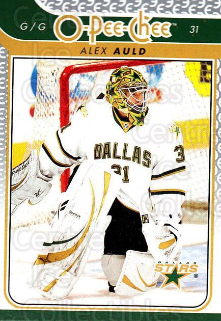 2009-10 O-pee-chee #695 Alex Auld<br/>6 In Stock - $1.00 each - <a href=https://centericecollectibles.foxycart.com/cart?name=2009-10%20O-pee-chee%20%23695%20Alex%20Auld...&quantity_max=6&price=$1.00&code=279037 class=foxycart> Buy it now! </a>