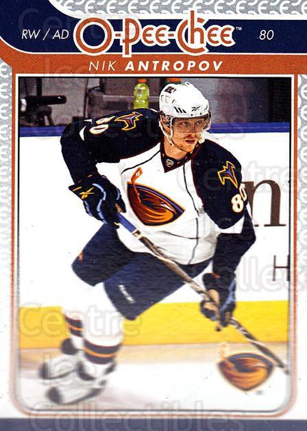 2009-10 O-pee-chee #698 Nik Antropov<br/>6 In Stock - $1.00 each - <a href=https://centericecollectibles.foxycart.com/cart?name=2009-10%20O-pee-chee%20%23698%20Nik%20Antropov...&quantity_max=6&price=$1.00&code=279040 class=foxycart> Buy it now! </a>