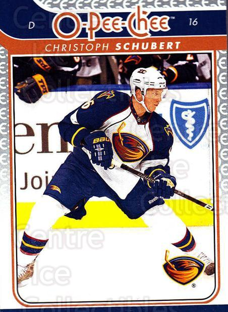 2009-10 O-pee-chee #720 Christoph Schubert<br/>4 In Stock - $1.00 each - <a href=https://centericecollectibles.foxycart.com/cart?name=2009-10%20O-pee-chee%20%23720%20Christoph%20Schub...&quantity_max=4&price=$1.00&code=279062 class=foxycart> Buy it now! </a>