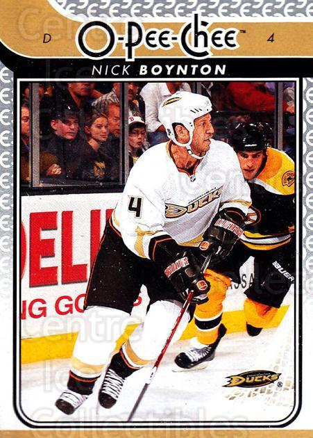 2009-10 O-pee-chee #727 Nick Boynton<br/>4 In Stock - $1.00 each - <a href=https://centericecollectibles.foxycart.com/cart?name=2009-10%20O-pee-chee%20%23727%20Nick%20Boynton...&quantity_max=4&price=$1.00&code=279069 class=foxycart> Buy it now! </a>