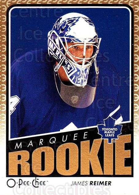 2009-10 O-pee-chee #782 James Reimer<br/>1 In Stock - $3.00 each - <a href=https://centericecollectibles.foxycart.com/cart?name=2009-10%20O-pee-chee%20%23782%20James%20Reimer...&price=$3.00&code=279124 class=foxycart> Buy it now! </a>