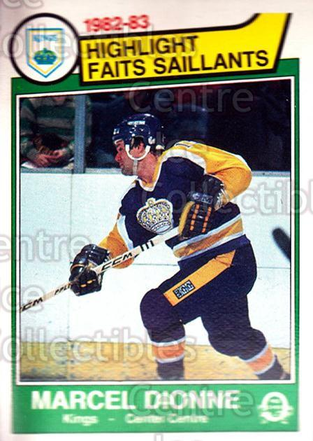 1983-84 O-Pee-Chee #151 Marcel Dionne<br/>7 In Stock - $2.00 each - <a href=https://centericecollectibles.foxycart.com/cart?name=1983-84%20O-Pee-Chee%20%23151%20Marcel%20Dionne...&quantity_max=7&price=$2.00&code=27918 class=foxycart> Buy it now! </a>