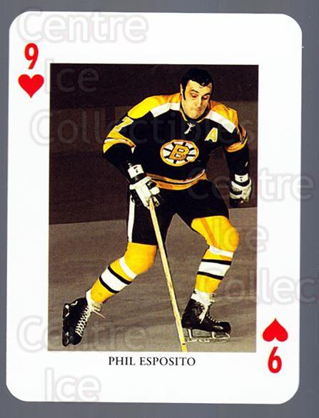 2008-09 Swedish Ice Hockey Playing Card #9 Phil Esposito<br/>3 In Stock - $3.00 each - <a href=https://centericecollectibles.foxycart.com/cart?name=2008-09%20Swedish%20Ice%20Hockey%20Playing%20Card%20%239%20Phil%20Esposito...&quantity_max=3&price=$3.00&code=279249 class=foxycart> Buy it now! </a>