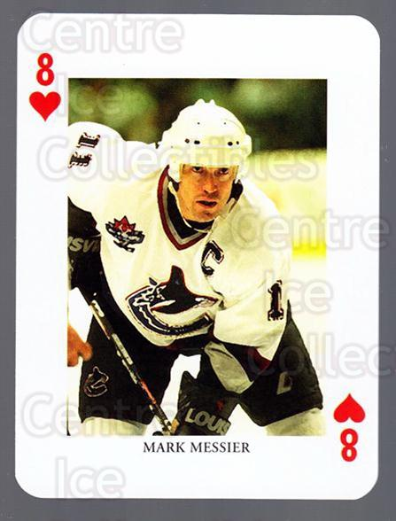 2008-09 Swedish Ice Hockey Playing Card #8 Mark Messier<br/>6 In Stock - $3.00 each - <a href=https://centericecollectibles.foxycart.com/cart?name=2008-09%20Swedish%20Ice%20Hockey%20Playing%20Card%20%238%20Mark%20Messier...&price=$3.00&code=279250 class=foxycart> Buy it now! </a>
