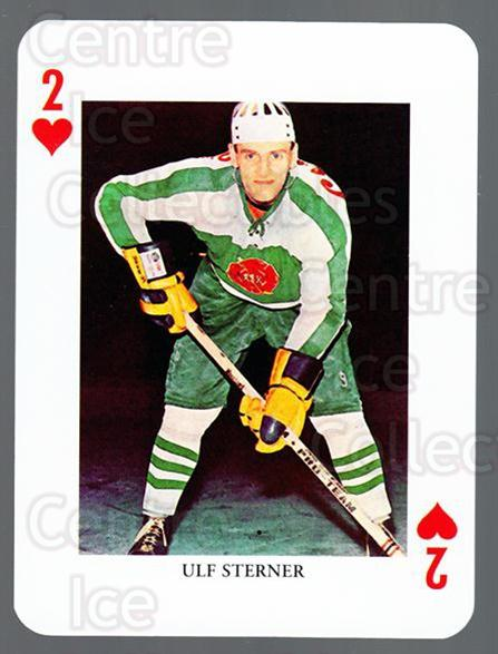 2008-09 Swedish Ice Hockey Playing Card #2 Ulf Sterner<br/>4 In Stock - $3.00 each - <a href=https://centericecollectibles.foxycart.com/cart?name=2008-09%20Swedish%20Ice%20Hockey%20Playing%20Card%20%232%20Ulf%20Sterner...&quantity_max=4&price=$3.00&code=279256 class=foxycart> Buy it now! </a>