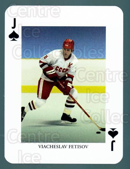 2008-09 Swedish Ice Hockey Playing Card #24 Vyacheslav Fetisov<br/>5 In Stock - $3.00 each - <a href=https://centericecollectibles.foxycart.com/cart?name=2008-09%20Swedish%20Ice%20Hockey%20Playing%20Card%20%2324%20Vyacheslav%20Feti...&price=$3.00&code=279260 class=foxycart> Buy it now! </a>