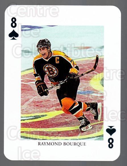 2008-09 Swedish Ice Hockey Playing Card #21 Ray Bourque<br/>4 In Stock - $3.00 each - <a href=https://centericecollectibles.foxycart.com/cart?name=2008-09%20Swedish%20Ice%20Hockey%20Playing%20Card%20%2321%20Ray%20Bourque...&price=$3.00&code=279263 class=foxycart> Buy it now! </a>